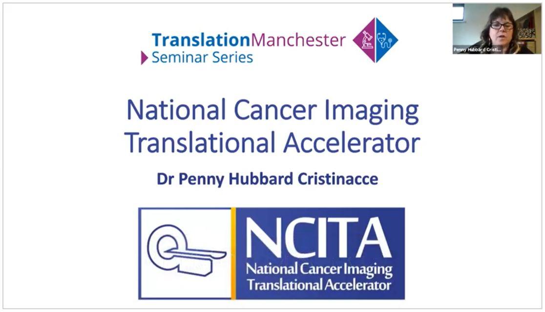 Dr Penny Hubbard Cristinacce NCITA presentation